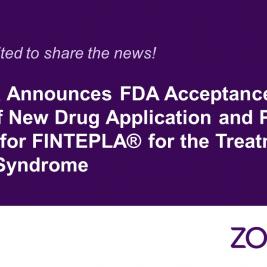 La FDA acepta estudiar la aplicacion de comercializacion de Zogenix