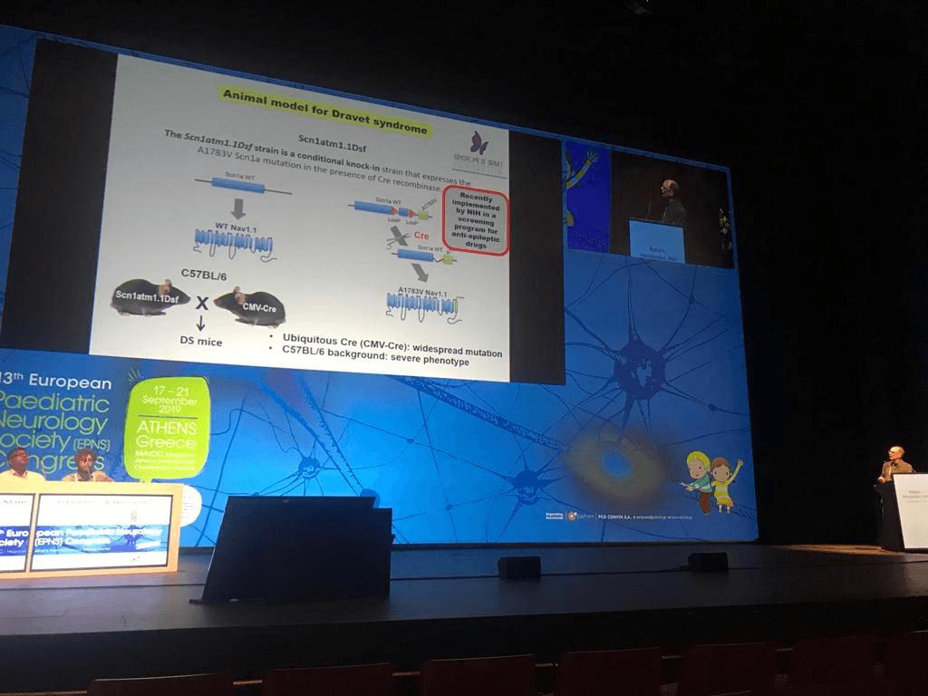 La Fundacion en el Congreso de la Sociedad Europea de Neuropediatria