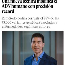 Una nueva tecnica modifica el ADN humano con precision record