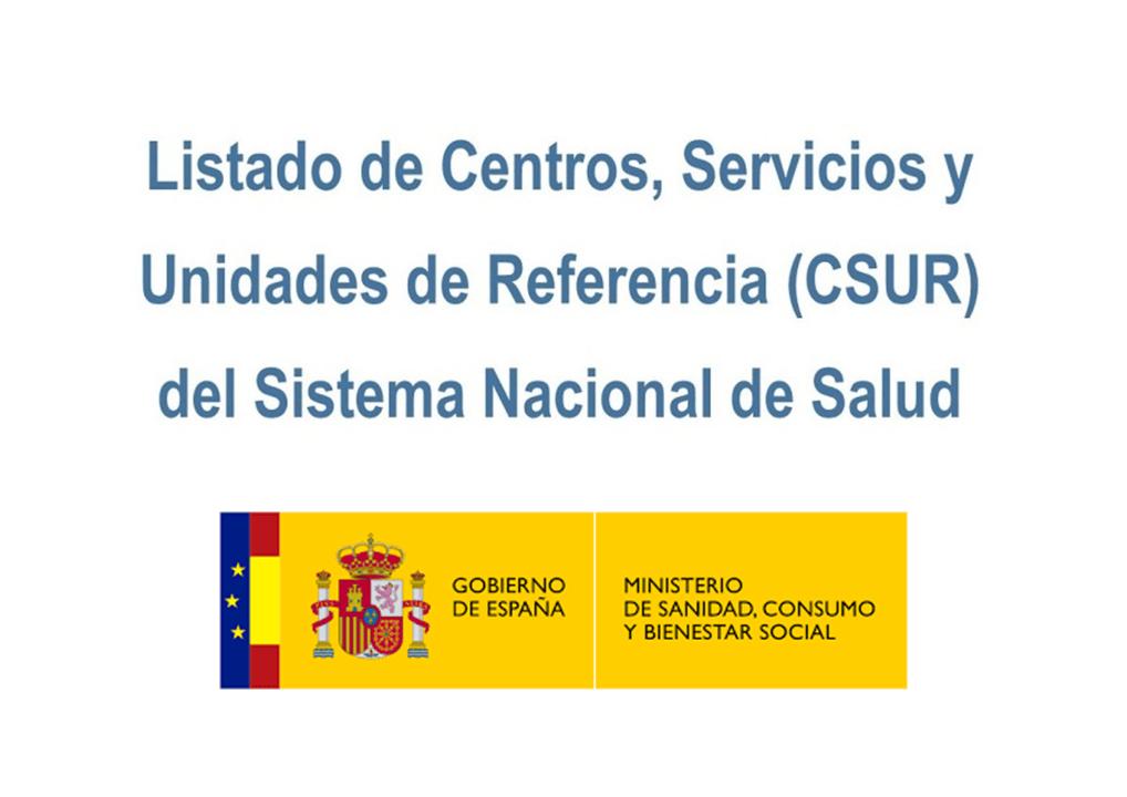 Centros, Servicios y Unidades de Referencia del Sistema Nacional de Salud