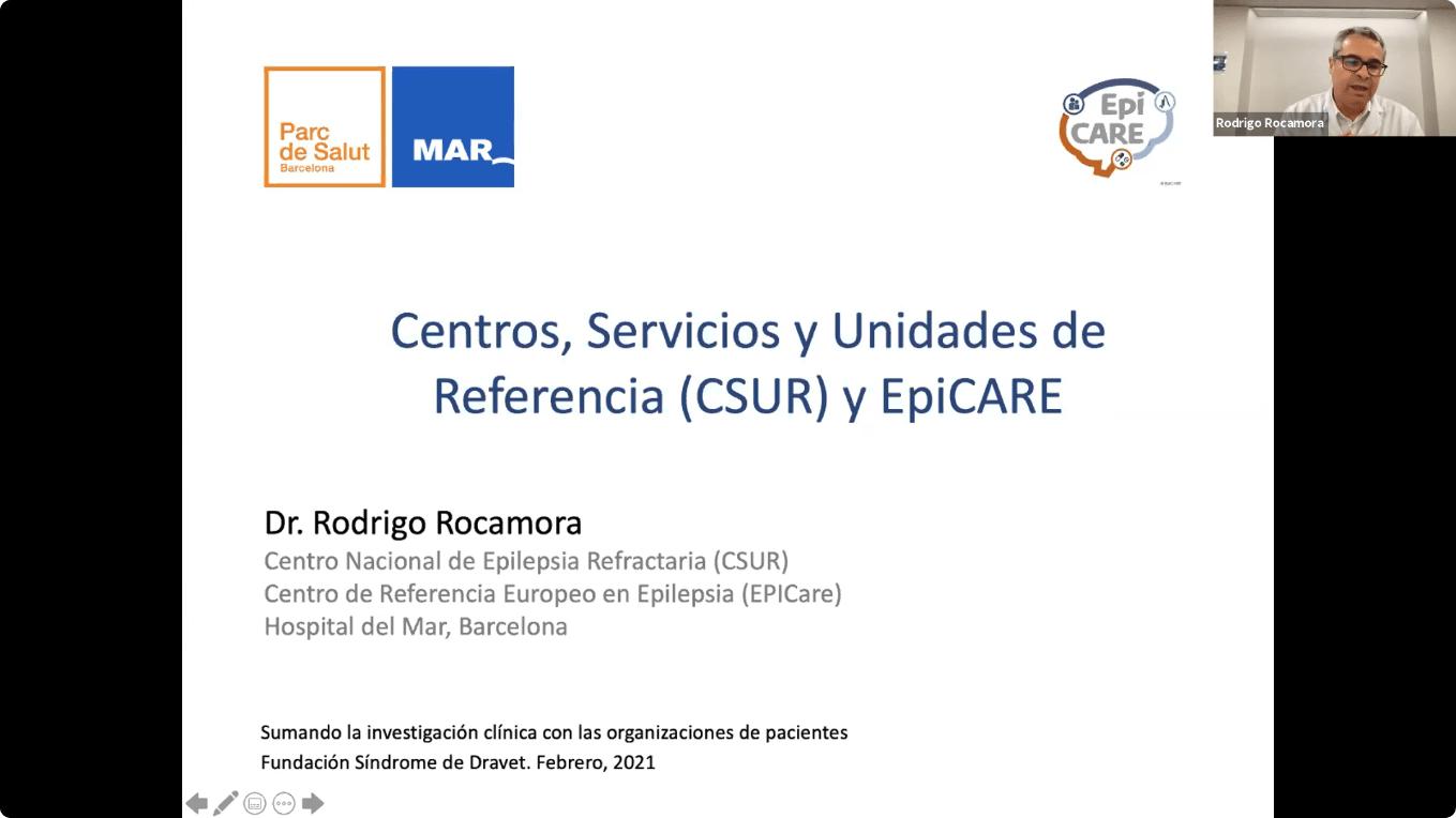 Conferencia EpiCARE - 1. Centros, Servicios y Unidades de Referencia y EpiCARE, Acceso del paciente a centros expertos