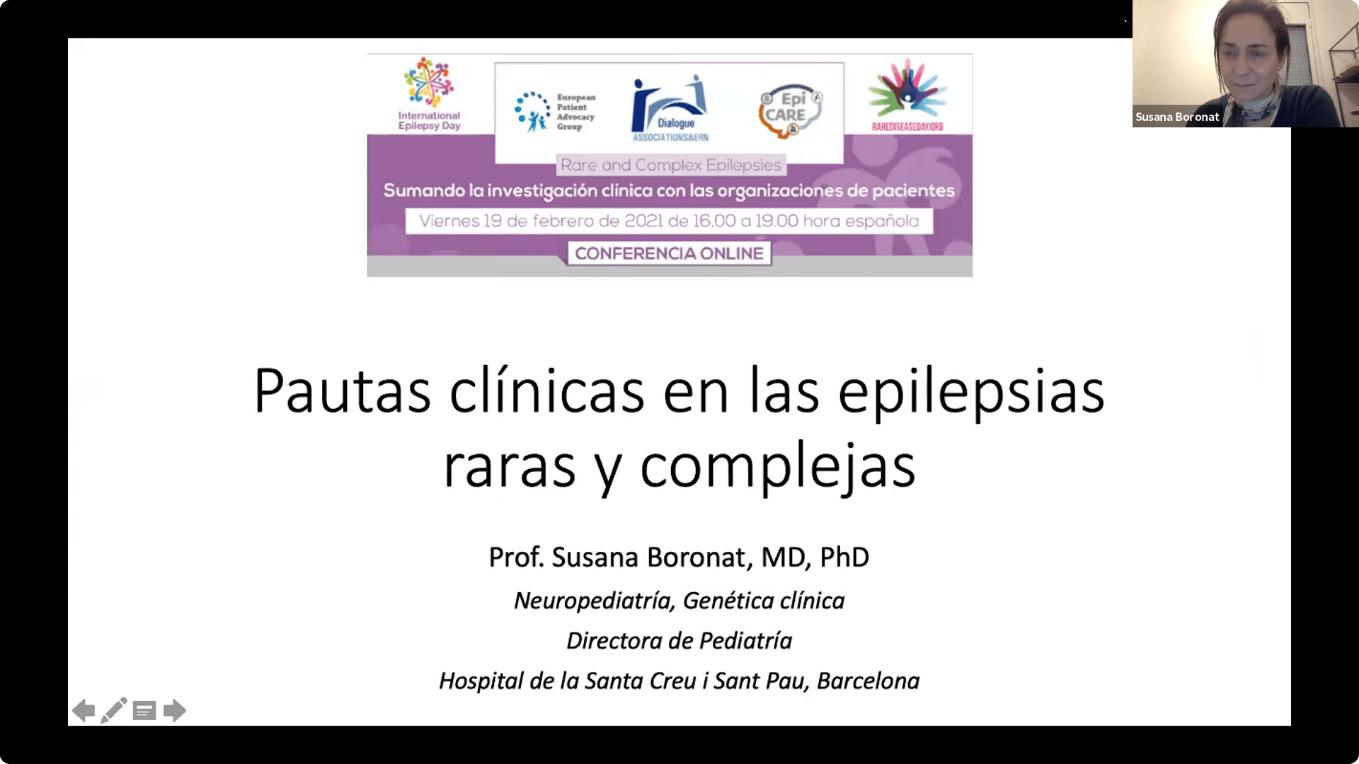 Conferencia EpiCARE - 2. Pautas clínicas en las epilepsias raras y complejas