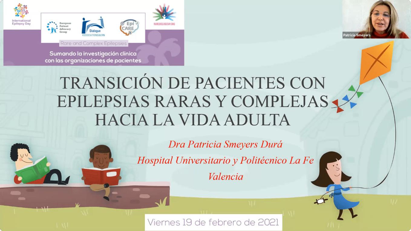 Conferencia EpiCARE - 3. Transición de pacientes con epilepsias raras y complejas hacia la vida adulta