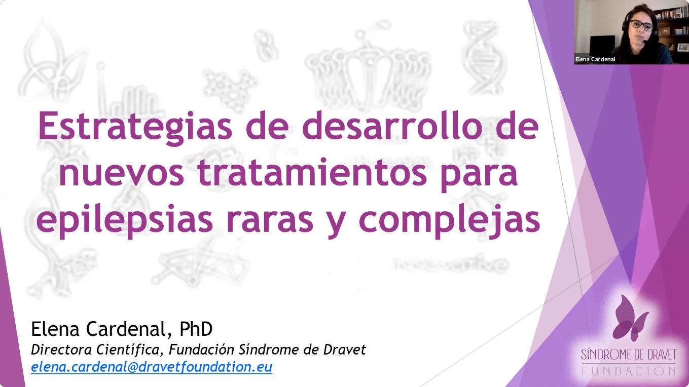 Conferencia EpiCARE - 5. Estrategias de desarrollo para nuevos tratamientos para epilepsias raras y complejas