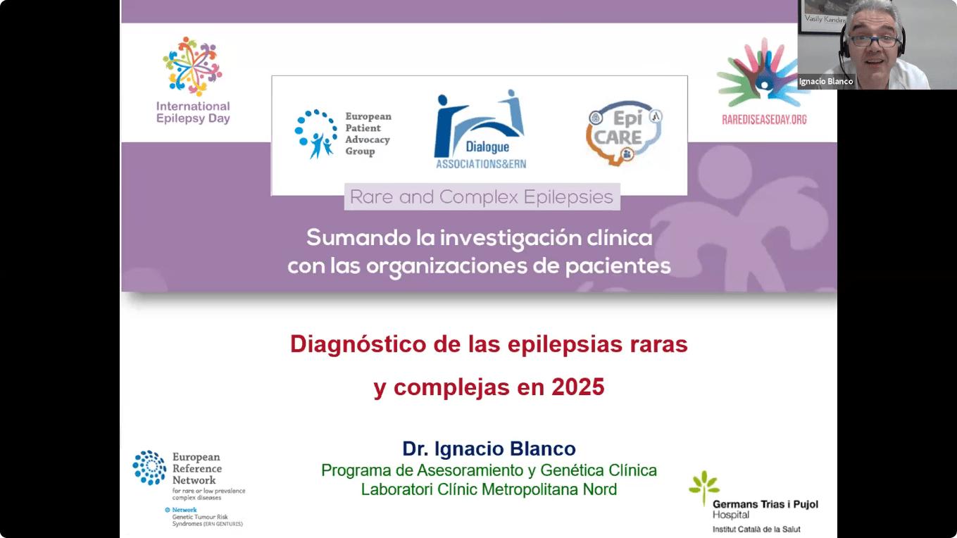 Conferencia EpiCARE - 7. Discusión abierta, Diagnóstico de las epilepsias raras y complejas en 2025