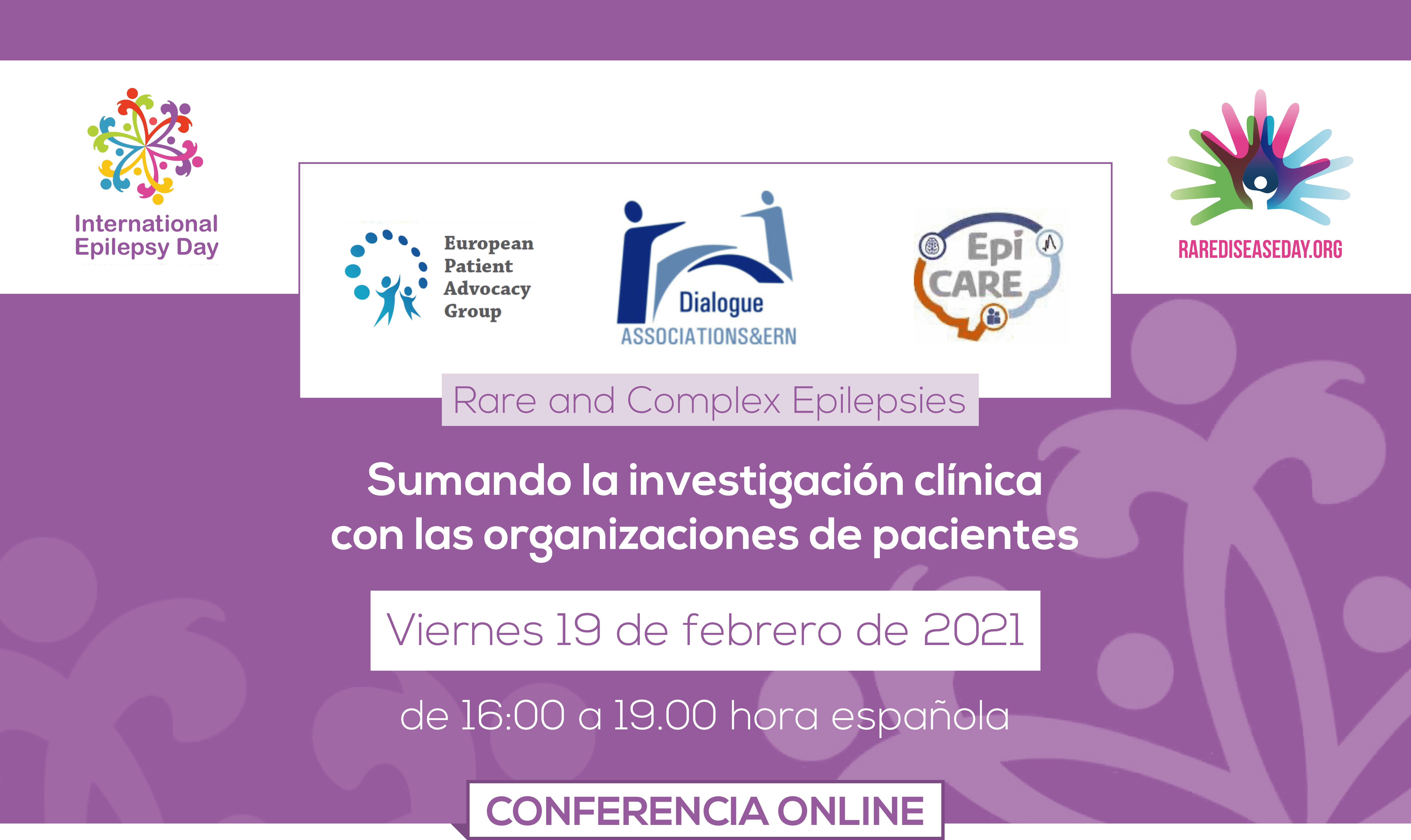 Conferencia online epilepsias raras y complejas