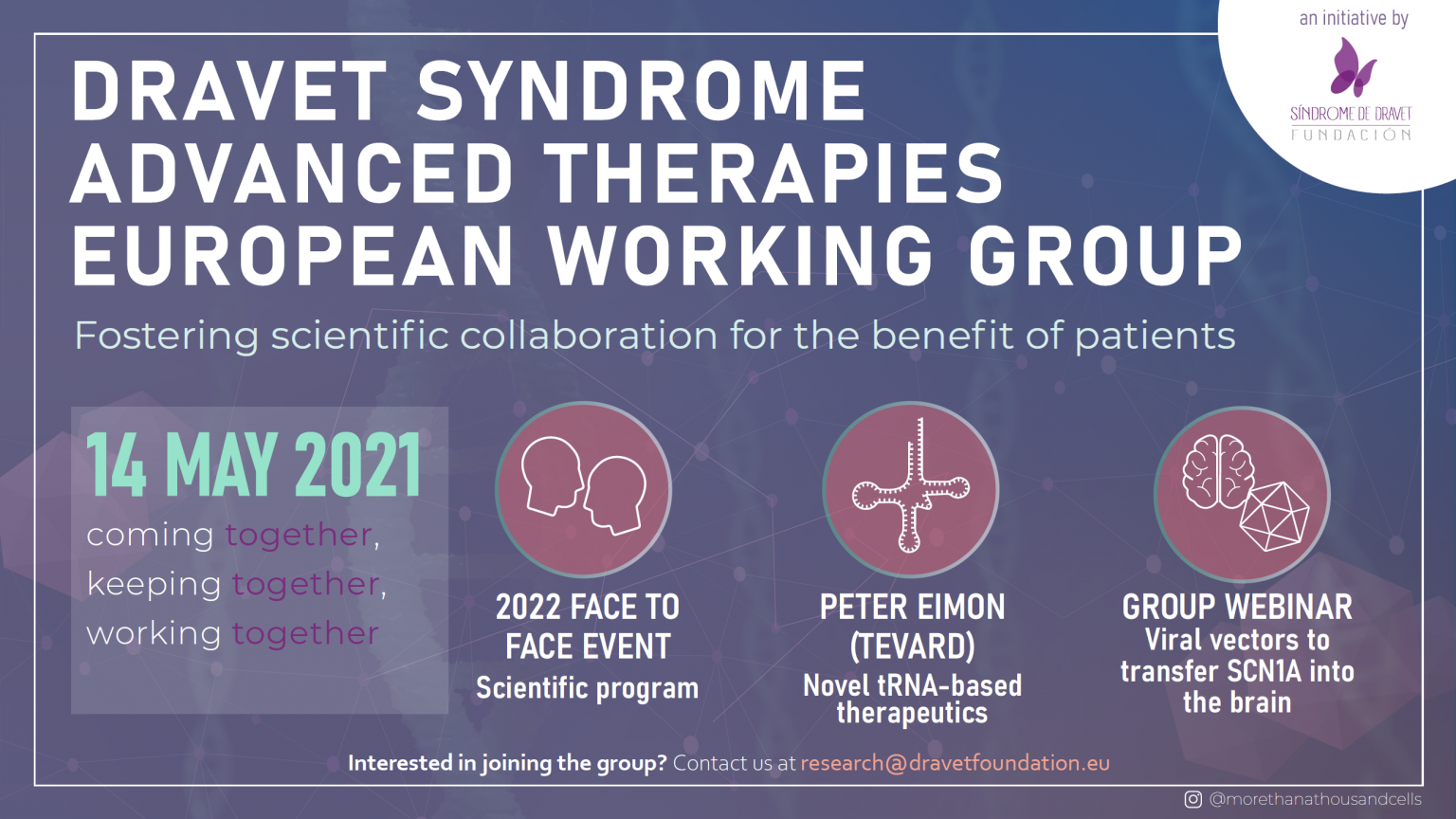 Dravet Syndrome Advanced Therapies European Working Group meeting 4