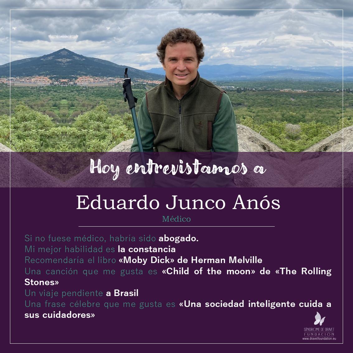 Entrevistamos a Eduardo Junco