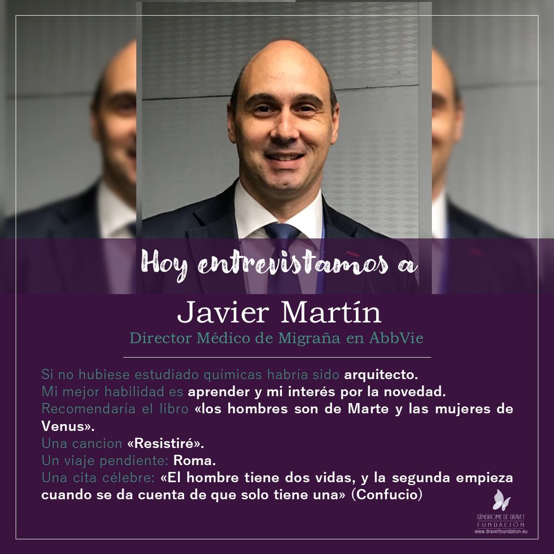 Hoy entrevistamos a Javier Martín