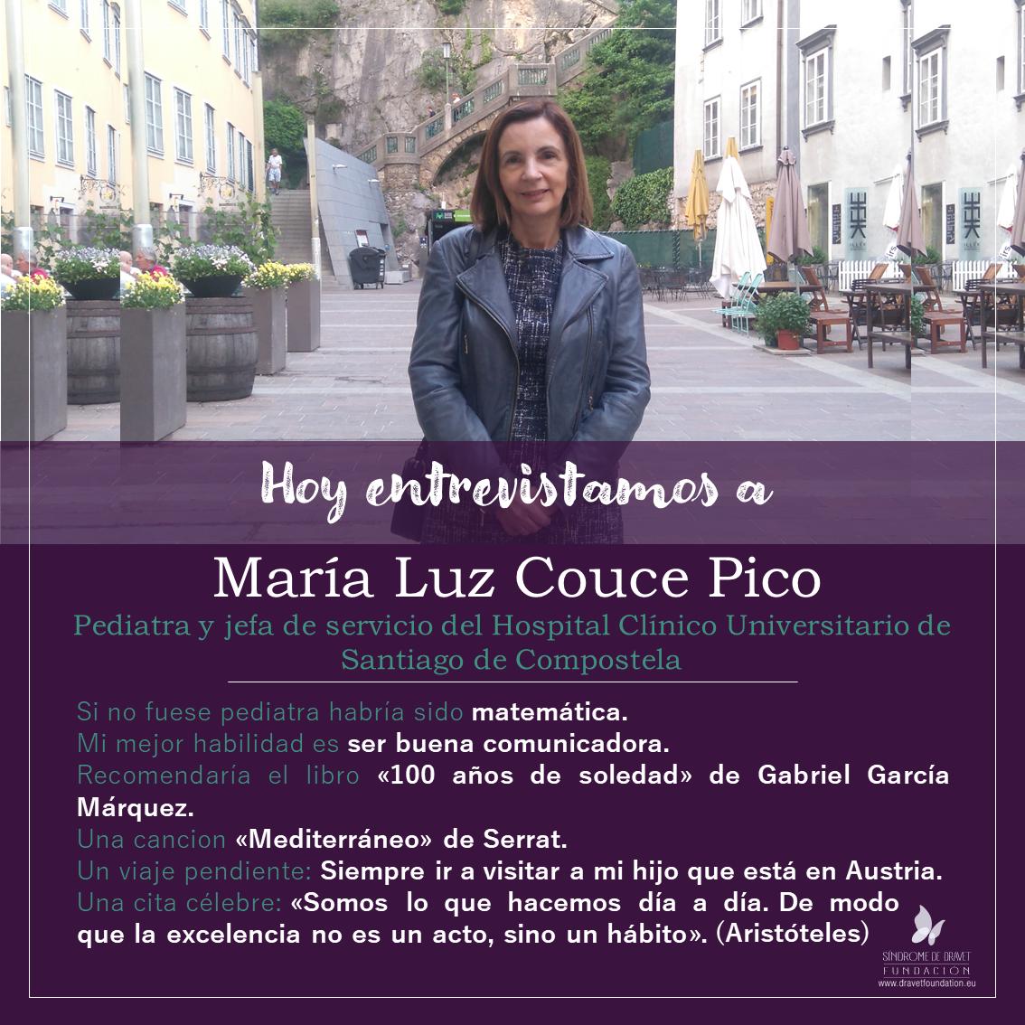 Entrevistamos a María Luz Couce Pico