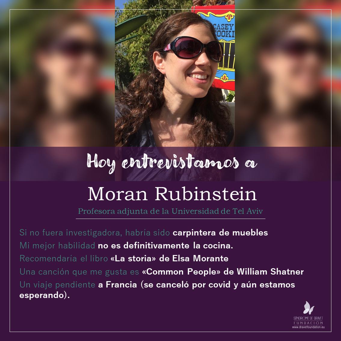 Entrevistamos a Moran Rubinstein