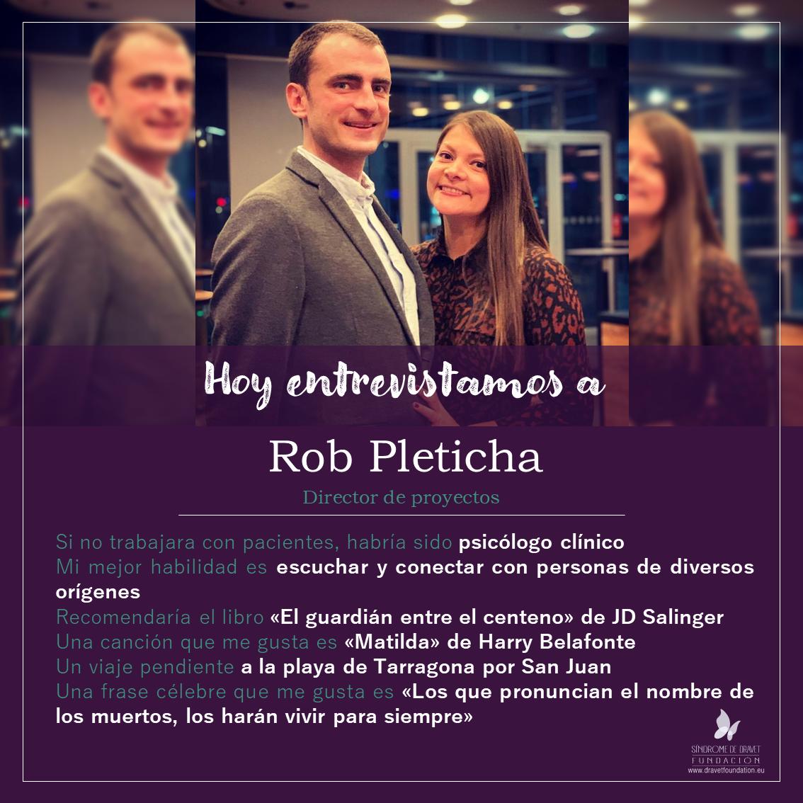 Entrevistamos a Rob Pleticha