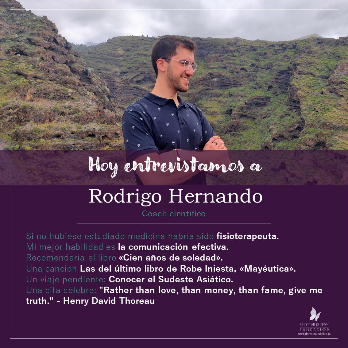 Entrevistamos a Rodrigo Hernando