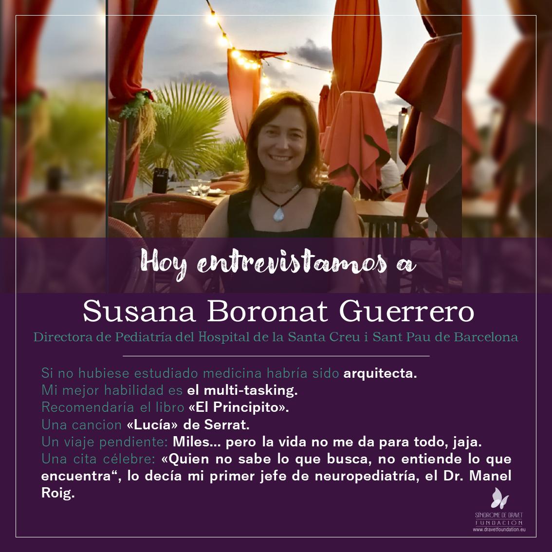 Entrevistamos a Susana Boronat Guerrero