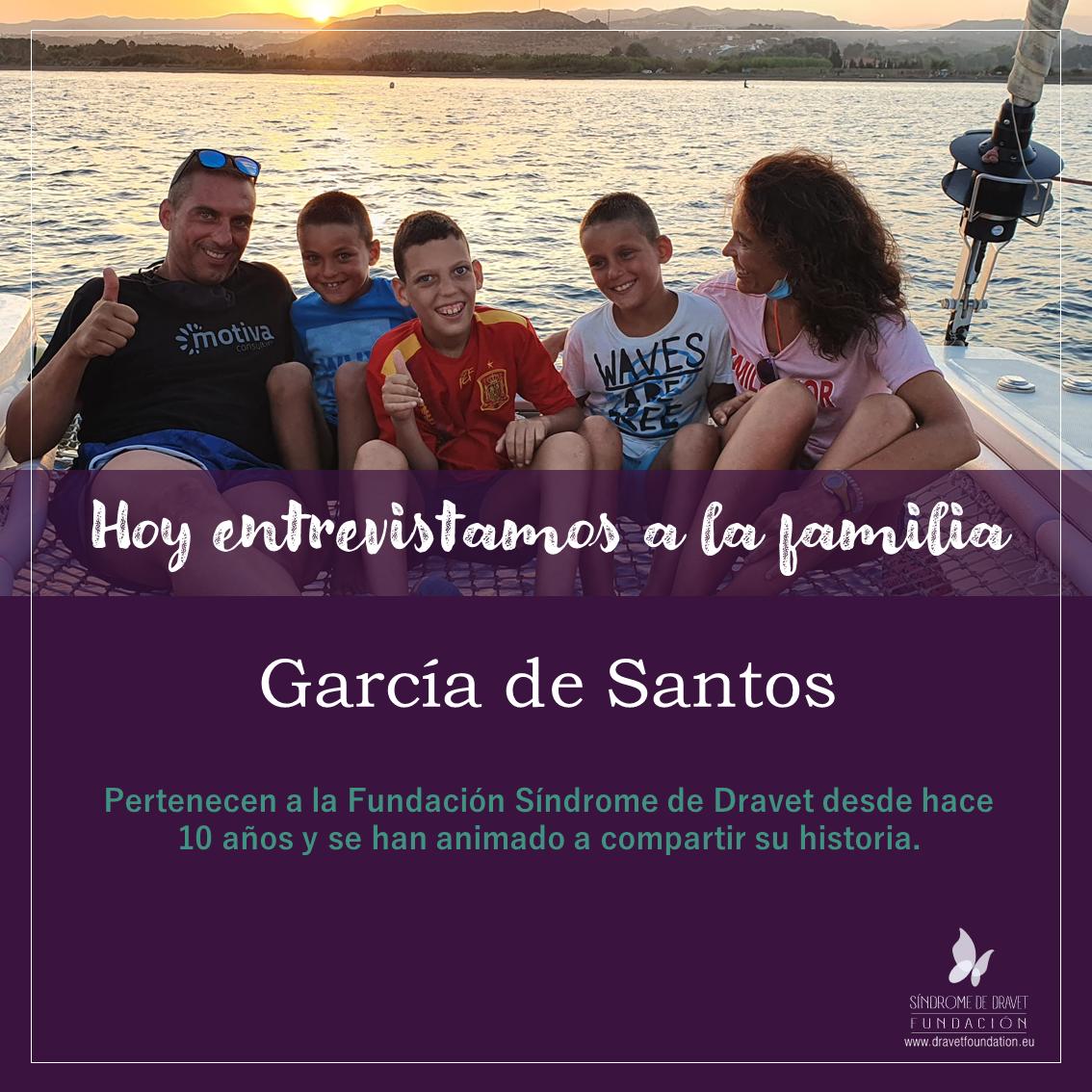 Entrevistamos a la familia García de Santos