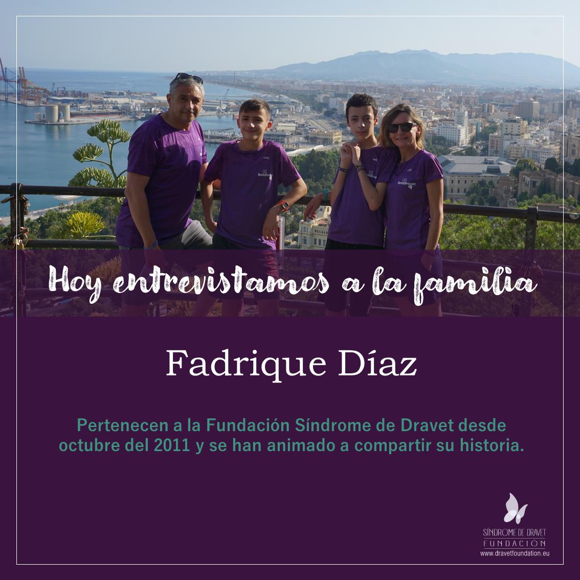 Entrevistamos a la familia Fadrique Díaz