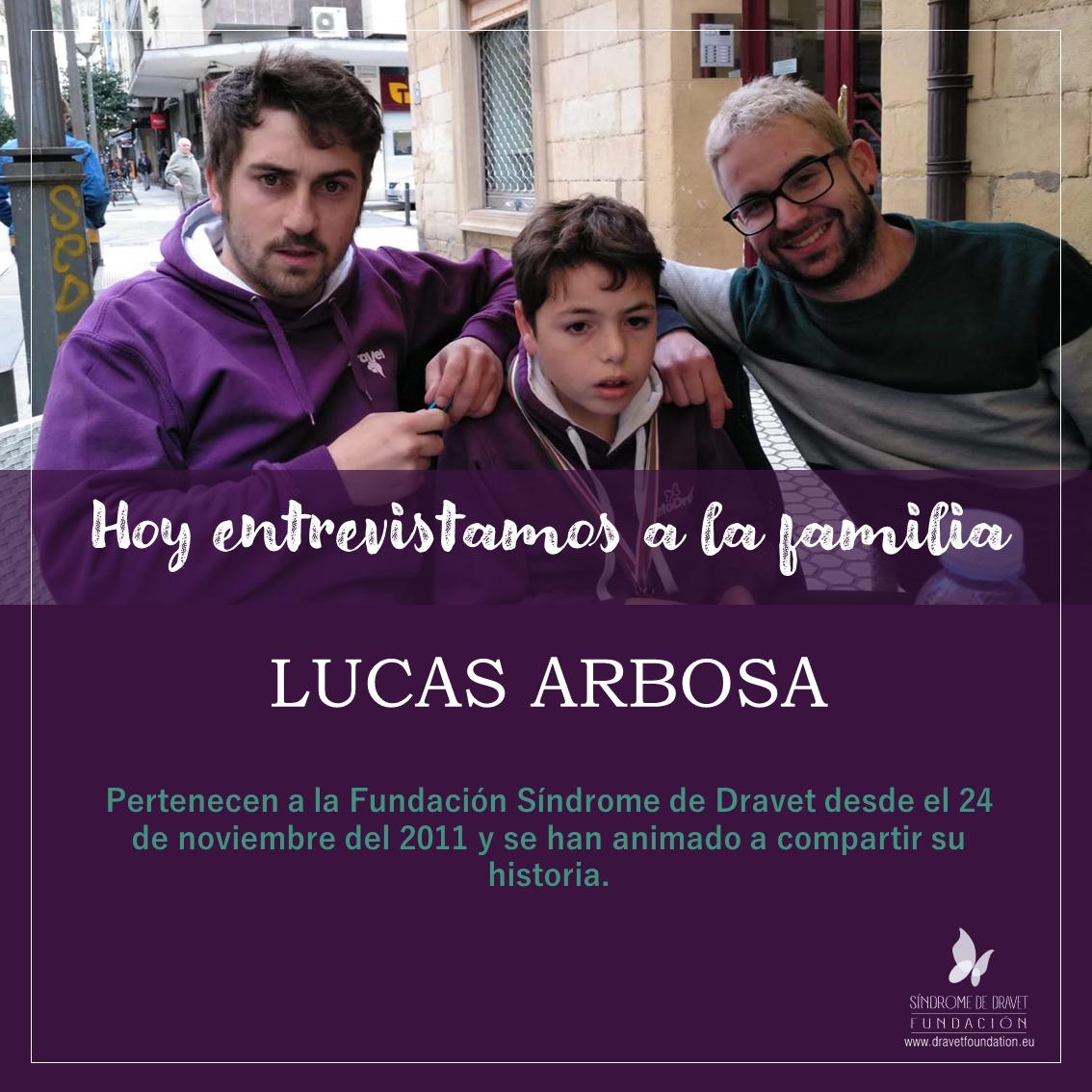 Entrevistamos a la familia Lucas Arbosa