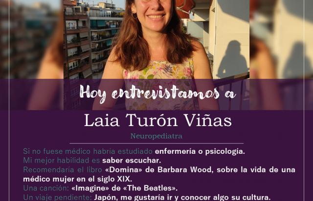 Entrevistamos a Laia Turón Viñas