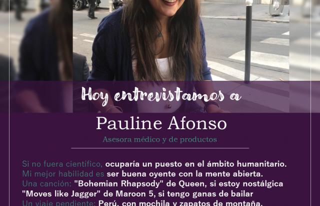 Entrevistamos a Pauline Afonso